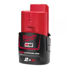 63% off Milwaukee M12B2 2.0Ah Lithium-Ion Battery
