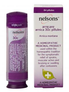 29% off Nelsons Homeopathic Indicated Arnica 30c - 84 Pillul