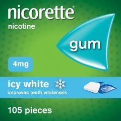 £9 off Nicorette Icy White Chewing Whitening Gum
