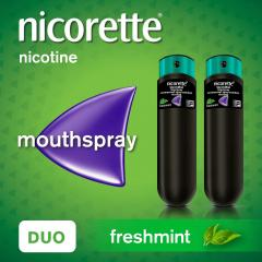 £15 off Nicorette QuickMist Mouth Spray Duo Pack