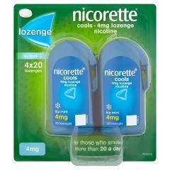 50% off Nicorette Cools 80 Lozenges