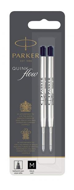 42% off Parker Quinkflow Ball Pen Refill Medium Nib Black