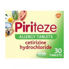 £6 off Piriteze Antihistamine Allergy Relief Tablets