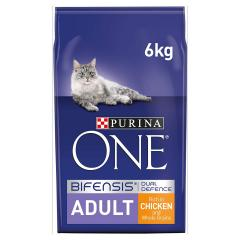 £11 off Purina ONE 1+ Cat Food Chicken & Wholegrains 6kg