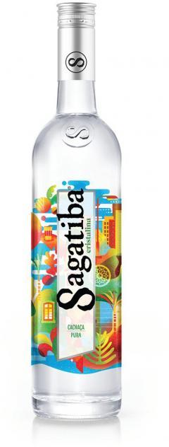 £13.99 for Sagatiba Cachaca Cristalina, 70 cl