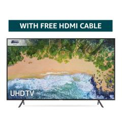 48% off Samsung 75NU7100 75-Inch Ultra HD Smart 4K TV