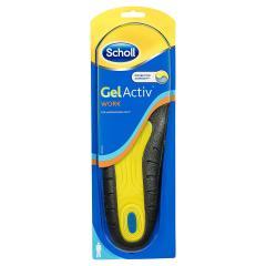 £6 off Scholl Men's Gel Active Work Gel Insoles, UK 7-12
