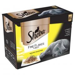 37% off Sheba 1+ Fine Flakes Wet Cat Food