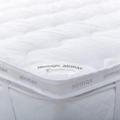 43% off Silentnight Airmax Mattress Topper, White, Double