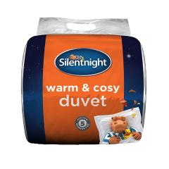 £25 for Silentnight Warm and Cosy 13.5 Tog, White, King