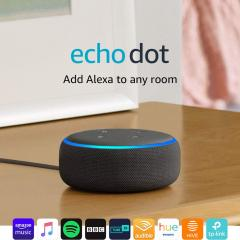 £15 off Smart speaker with Alexa - Charcoal Fabric