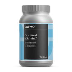 £6.85 for Solimo Calcium and Vitamin D Food Supplement