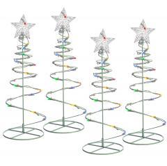 22% off Spiral Trees Christmas Lighting