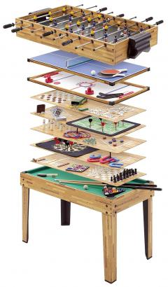 £150 for Table Football, Hockey and 32 other games