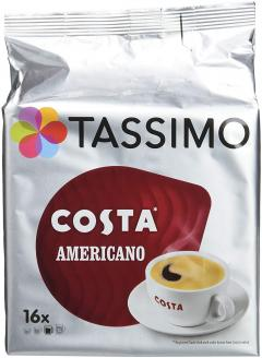 7% off Tassimo Costa Americano Coffee Pods