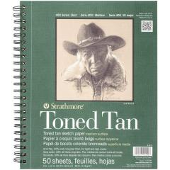 £9.59 for Toned Sketch Spiral Paper Pad