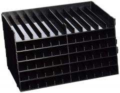 63% off Universal Pen Trays, Black, Pack of 6