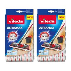 19% off Vileda UltraMax/1-2 Spray Replacement Microfibre Pad