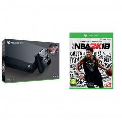 £470 for Xbox One X Sea Of Thieves bundle + NBA 2K19