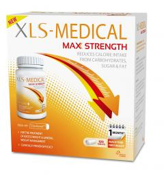 £50 off XLS-Medical Max Strength Tablets