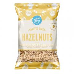 25% off Happy Belly Roasted and Diced Hazelnuts 200gr x 5