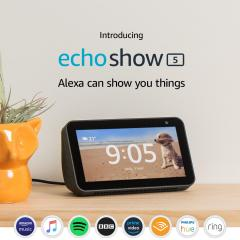 £10 off Echo Show 5 – Compact smart display