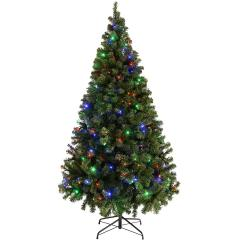 £48 off Emerald Green Spruce Pre-Lit Christmas Tree