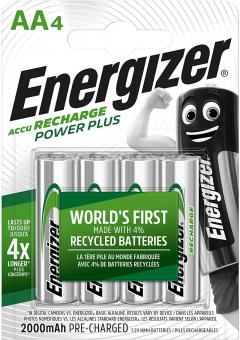 £6.32 for Energizer Rechargeable Batteries AA