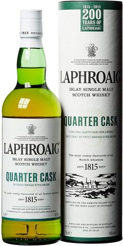 £30 for Laphroaig Quarter Cask Single Malt Scotch Whisky