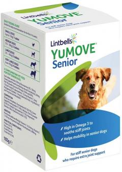 £28 for Lintbells YuMOVE Senior Dog Joint Supplement