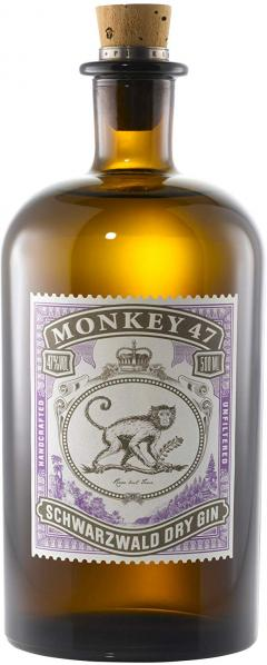 £31.99 for Monkey 47 Schwarzwald Dry Gin, 50 cl