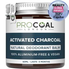 £5.94 for Natural Deodorant with Activated Charcoal
