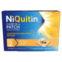 56% off NiQuitin Clear 24 Hour 7 Patches