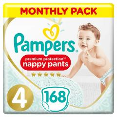 32% off Pampers Premium Protection Nappy Pants Size 4