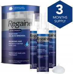 49% off Regaine For Men Extra Strength Scalp Foam