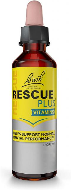 £4.75 for RESCUE PLUS Dropper Lemon and Elderflower, 20 ml