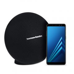 £74.26 off Samsung A8 Black and Harman-Kardon ONYX Speaker