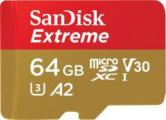60% off SanDisk Extreme 64 GB microSDXC Memory Card