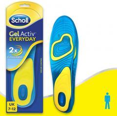 £7 off Scholl Men's Gel Activ Everyday Insoles, UK Size 7-12