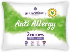 £16.01 for Slumberdown Anti Allergy Pillows