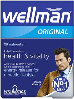 £3.50 for Wellman Vitabiotics Original - 30 Tablets