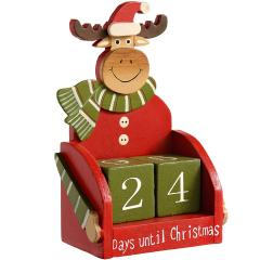 £8 off Wooden Reindeer Advent Calendar