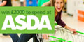 Win £2000 to spend at ASDA