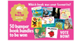 Win 1 of 50 Bumper Book Bundles