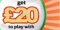 Get your Free £20 to play with Iceland Bingo