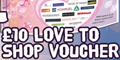 Free £10 Love2Shop Voucher & £30 Bingo Cash