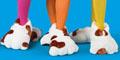 Free Pairs of Churchill Slippers