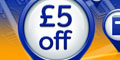 Free £5 off £15 Spend at WHSmith Voucher