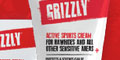 Free Grizzly Active Sports Cream