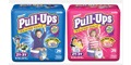 Get your FREE Huggies pull-ups today!